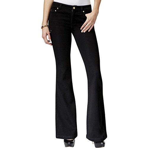 Blue Denim Flared Jeans - 7