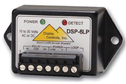 Apollo DSP06-LP Diablo Loop Detector (Low Voltage - 1 piece) detects vehicle presence