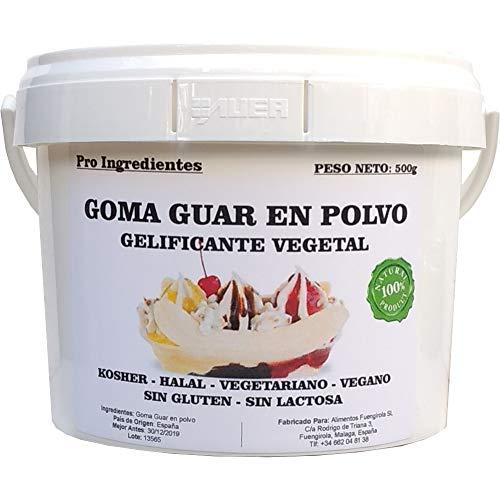 Goma Guar en Polvo 500g - Gelificante Vegetal: Amazon.es: Alimentación y bebidas