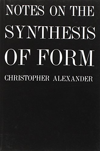 Pdf Transportation Notes on the Synthesis of Form (Harvard Paperbacks)