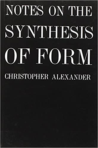 notes on the synthesis of form harvard paperbacks