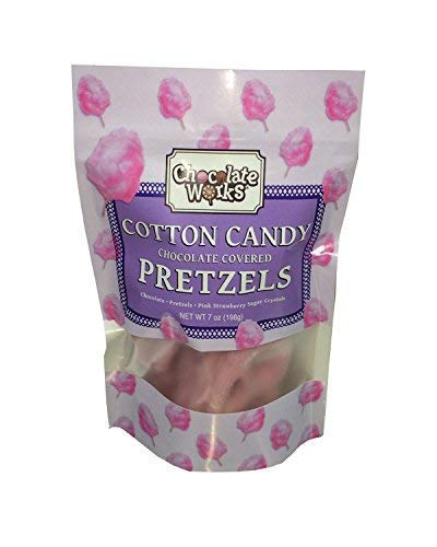 Chocolate Covered Pretzels, Candy Cane Flavor, 12 Pack by Chocolate Works