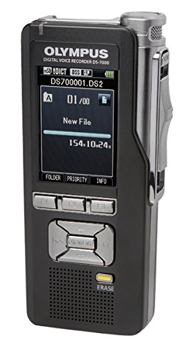 Olympus 2 GB Durable Professional Recorder with Slide Switch Control and 2-inch Color LCD Screen
