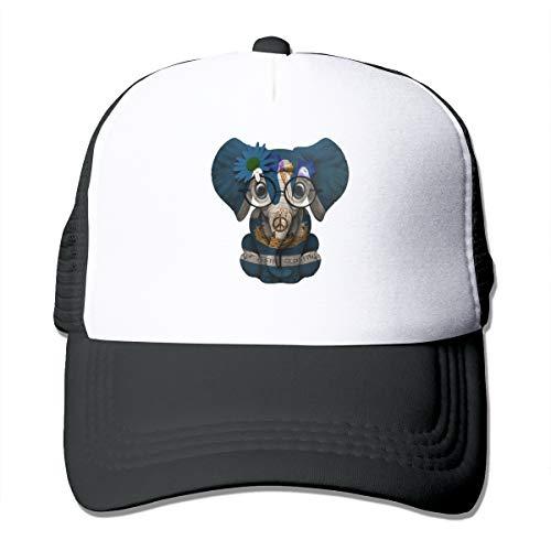 Louisiana Flag LA Classic Trucker Hat Adjustable Baseball Cap for Men and Women Black -