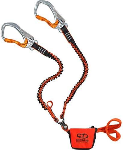 Climbing Technology Hook-it Slider, Juego Ferrata Unisex – Adulto, Naranja/Gris, Talla única