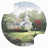 Hometown Chapel by Thomas Kinkade Carsters, Coasters for your Car