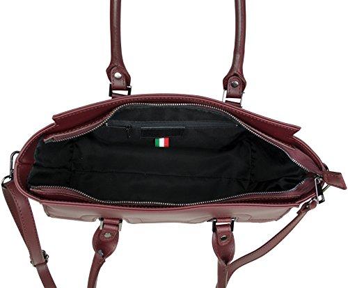 Donna A Shirin Spalla Borsa Chianti Rosso Freja Sehan P1xvqwAR6
