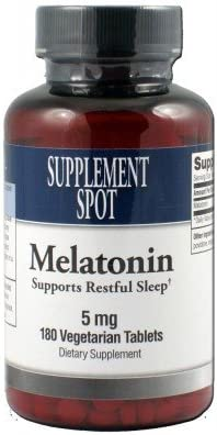 Amazon.com: Melatonina 5 mg 180 tabletas: Health & Personal Care