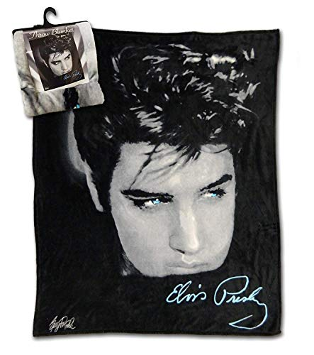 Elvis Throw Blanket - Up Closer ()