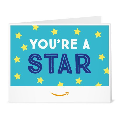 Amazon Gift Card - Print - You're a Star (Teal)