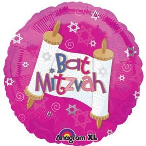 Bat-Mitzvah-Pink-Swirls-Scroll-18-Balloon-Mylar
