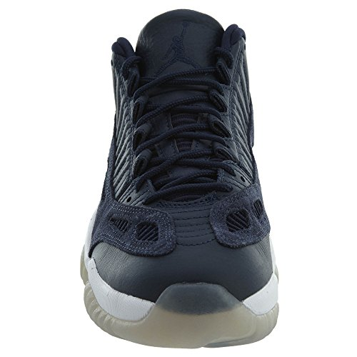 Jordan Air 8 Rétro Chaussures De Basket-ball Obsidienne, Obsidienne-blanc