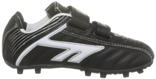 Hi-Tec EOS League Moulded - Zapatillas de fútbol para niño Negro