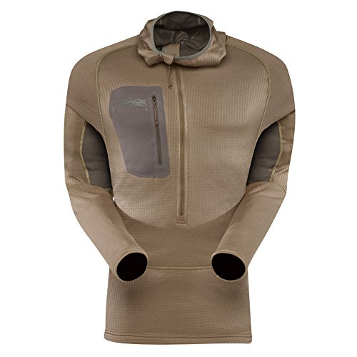 Sitka Gear Cold Weather Base Layer Core Heavyweight Hoody Dirt Medium by Sitka Gear