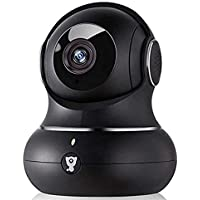 [2021] IP-camera Full HD 1080P WiFi & LAN, compatibel met Smart Life, bewegingsdetectie met akoestisch alarm, bewaking…