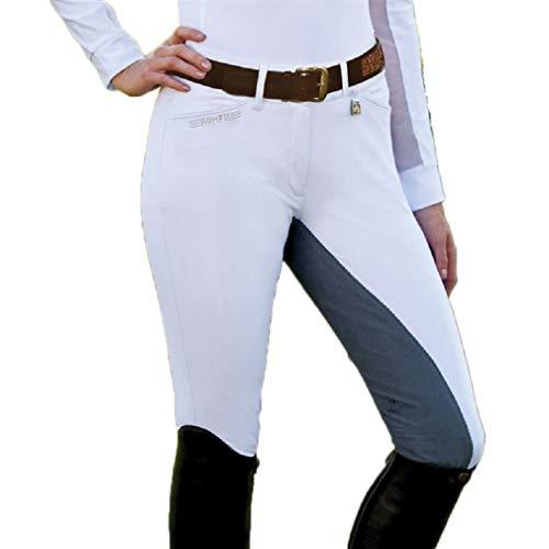 (Romfh Ladies Sarafina Fullseat 38R White/Grey)