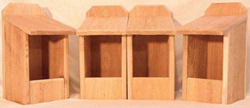4 Cedar Nesting Boxes Cardinal Nest