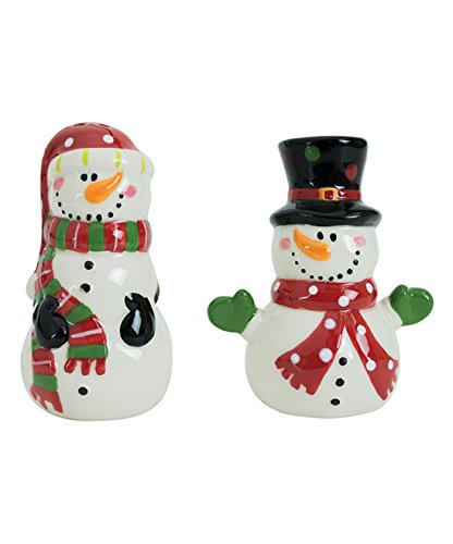 (Boston Warehouse Snowman Salt and Pepper Set)