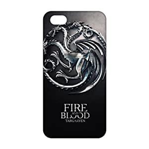 Cool-benz Fire Blood 3D Phone Case for iPhone 4/4s