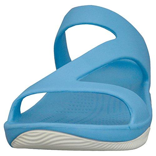 Dawgs Womens Premium Z Sandales Paon / Blanc