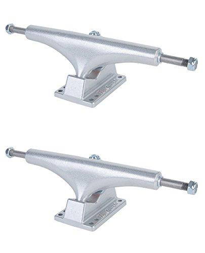 熱マークされたウォーターフロントパリTruck Co。Street高Raw Wide Skateboard Trucks – 169 mmハンガー9