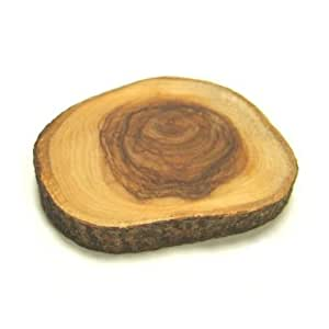 Olive Wood Coaster - 4 Inch by SCI Scandicrafts
