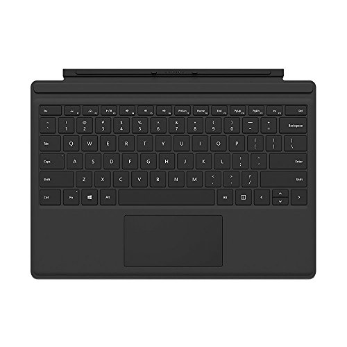 Microsoft FMM-00001 Type Cover for Surface Pro - Black (Certified Refurbished)