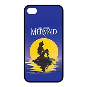 Madisonarts Customize The Little Mermaid Iphone 4/4S Case TPU Case Fits and Protect Iphone 4 and Iphone 4s-MA-Iphone 4-01538 Kimberly Kurzendoerfer