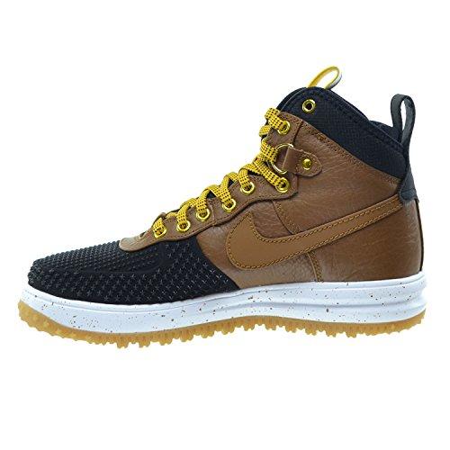 Nike Lunar Kraft 1 Duckboot Mens Skor Svart / Ljus Brittisk Tan / Guld Dart / Vit 805.899-004
