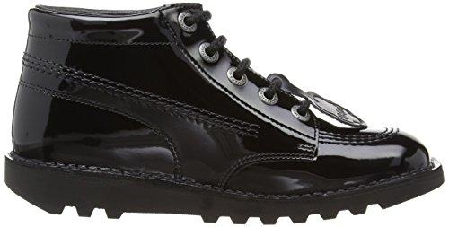 Kickers black Noir Hi Bottes Core Fille ZwZr76
