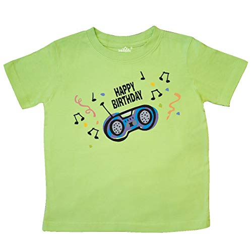 inktastic - Birthday Music Toddler T-Shirt 2T Key Lime 2e0