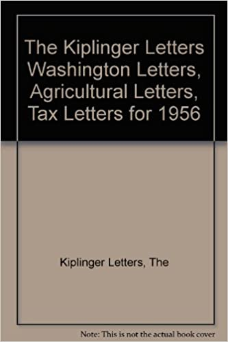 the kiplinger letters washington letters agricultural letters tax letters for 1956 the kiplinger letters amazoncom books