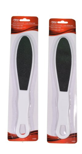 Lot of 2 Double Sided Foot Smoothers Callus Removers Pedicur