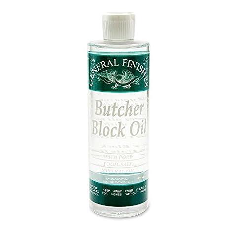 Butcher Block Oil Pint, (Saf) - Finish Cutting Boards