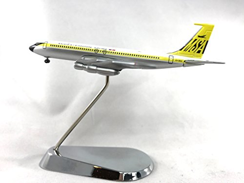 Geminijets Malaysia Singapore Airlines Boeing 707 320B Diecast Airplane Model 9V Bba With Chrome Stand 1 400 Scale Part  Gjmsa386