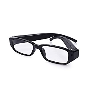HD 1080P Spy Polarized eyeglasses with mini Hidden Camera,Video Record+Loop Recording+Free eyeglass Case for outdoors