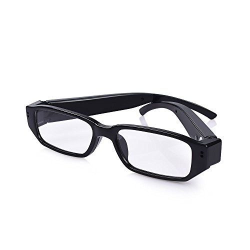 HD Spy Polarized eyeglasses with mini Hidden Camera,Video Record+Loop Recording+Free eyeglass Case for outdoors