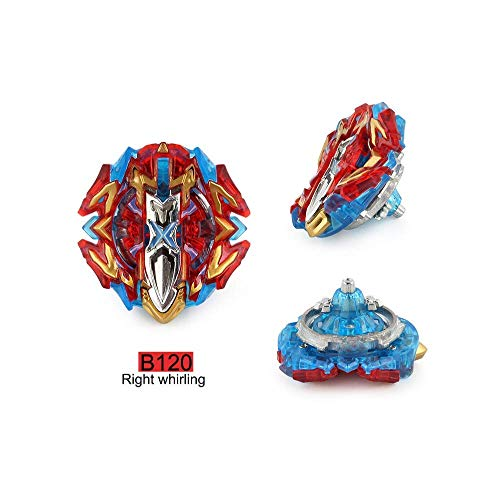 Dey-Tey Burst Battle Evolution Attack Gyro Set with Two 4D Launcher Grip Starter and Stadium(4 in 1) by Dey-Tey (Image #1)