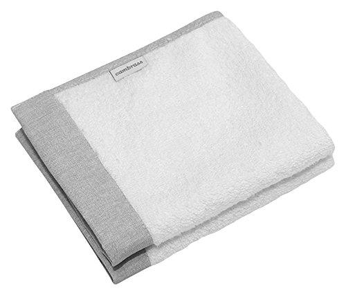 Cambrass Denim - Juego de dos toallas, 25 x 35 cm, color gris 38940