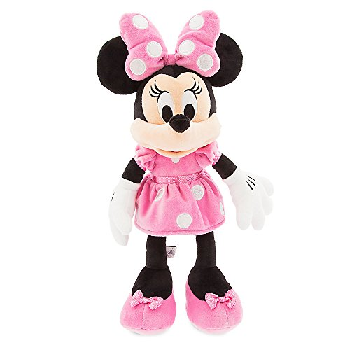 Minnie Mouse Plush - Disney Minnie Mouse Plush - Pink - Medium - 18 Inch