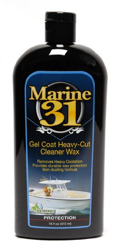 Marine 31 Gel Coat Heavy-Cut Cleaner Wax - Heavy Wax