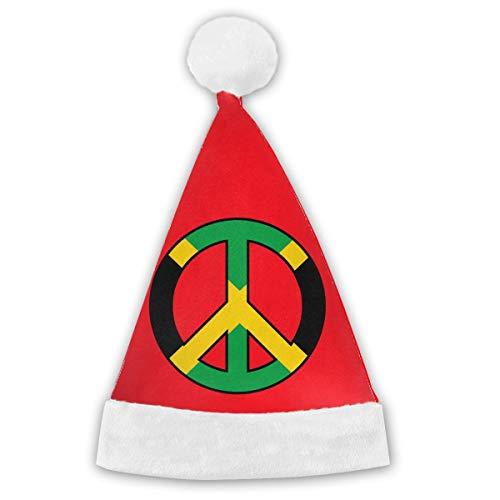 Jamaica Flag Peace Christmas Years Xmas Christmas Party Santa Hats Cap Children Adults -