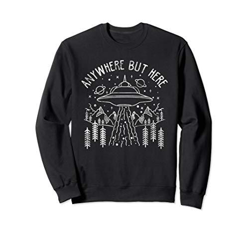 Science UFO Abduction Alien Sweatshirt Gift