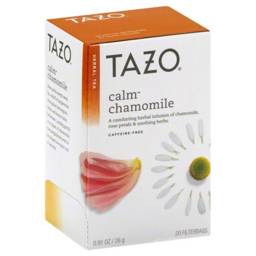 Tazo - Herbal Tea Caffeine Free Calm Chamomile - 20 Tea Bags -