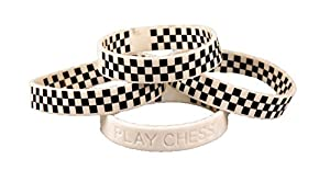 Chess Wristband: PLAY CHESS! - Youth