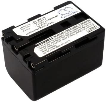XPS Replacement Battery Compatible with Sony CCD-TRV108 CCD-TRV108E CCD-TRV116 CCD-TRV118 CCD-TRV126 CCD-TRV128 CCD-TRV138 CCD-TRV208 CCD-TRV208E CCD-TRV218 PN Sony NP-QM71D