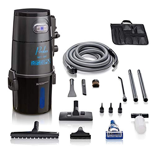 Prolux Professional Shop Grey Wall Mounted Garage Vacuum Wet Dry Pick Up