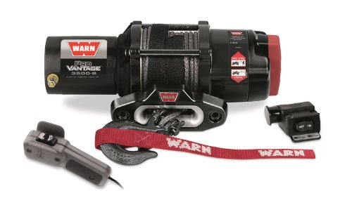 WARN 90351 ProVantage 3500-S Winch - 3500 lb. Capacity