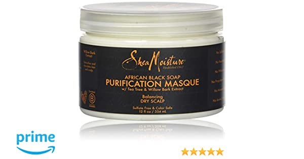 Karité Moisture African Black Soap Purification Masque 12 fl oz / 354 ml: Amazon.es: Belleza