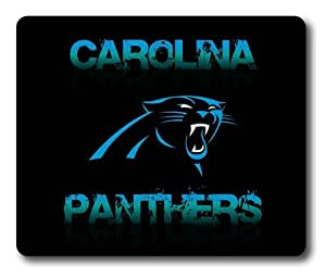 Carolina Panther Dark Rectangle Mouse Pad by eeMuse
